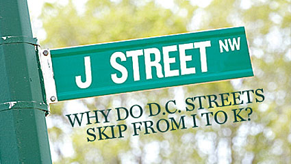 J Street Missing in Washington DC