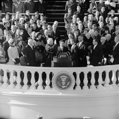 Presidential Inauguration of John F Kennedy 23 Amendment