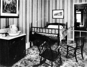 Petersen House Bedroom